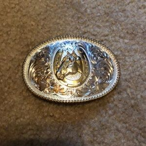 MSS Silver Buckle